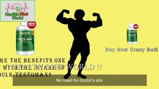 Crazy Bulk TestoMax Review   Health Diet World