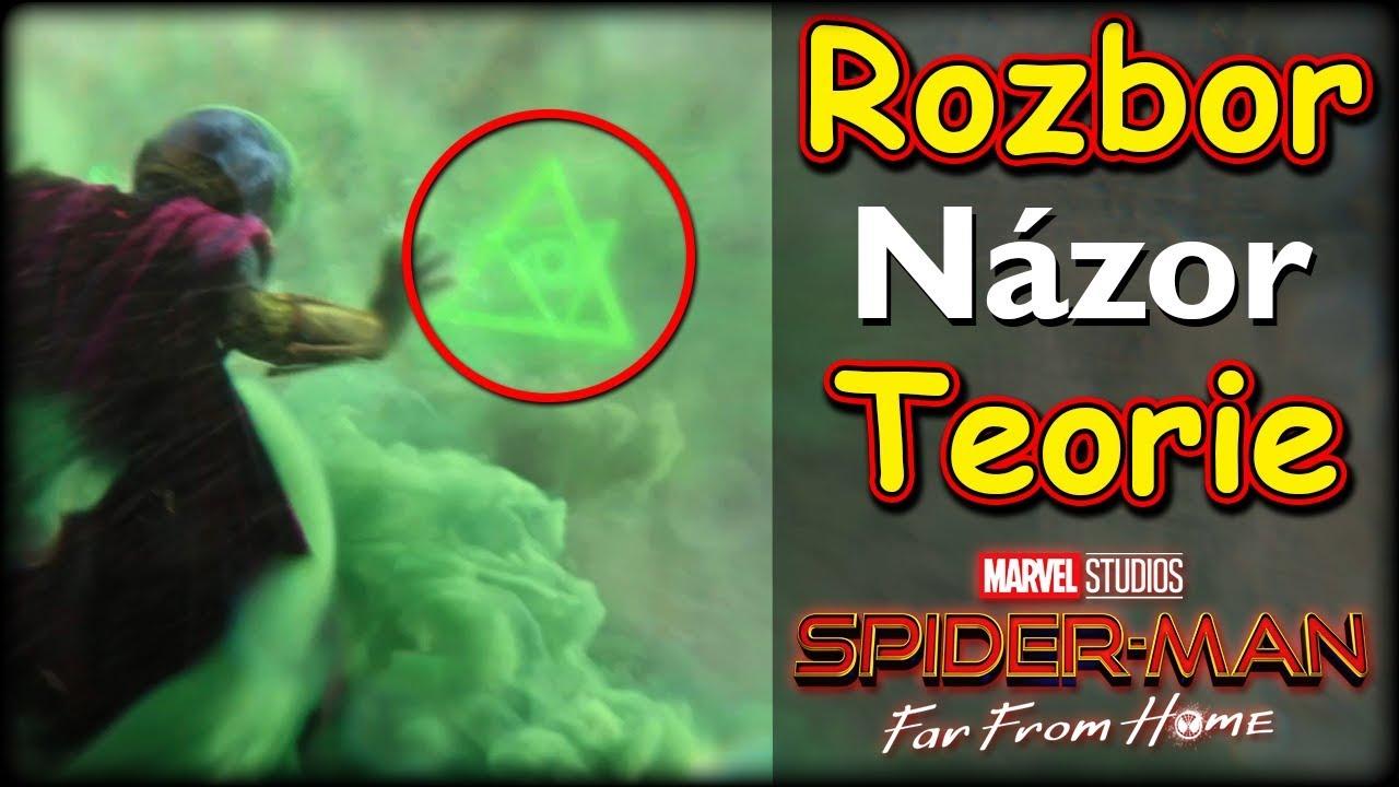 Rozbor traileru + Názor + Teorie na SPIDER-MAN: FAR FROM HOME
