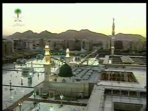 Maghrib Adhan in Madinah