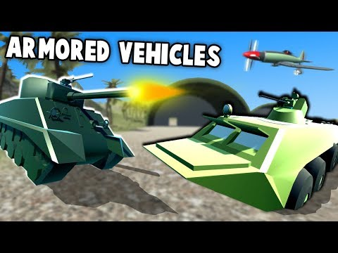 EPIC New Armored Vehicles!  NEW Planes & Boats! (Ravenfield Gameplay - New Vehicle Mods)
