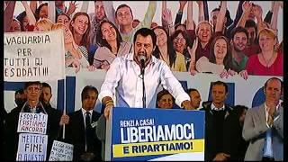 Matteo Salvini - Liberiamoci e Ripartiamo! - Bologna 8 novembre 2015