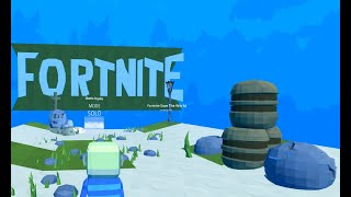 Explorando Ciudades de Fortnite en Kogama || Fortnite Kogama Gameplay