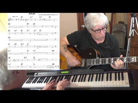 Avalon  jazz guitar & piano   Al Jolson, Buddy DeSylva and Vincent Rose  Yvan Jacques