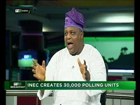 TVC Breakfast 24th April 2018 | INEC creates 30,000 Polling Units