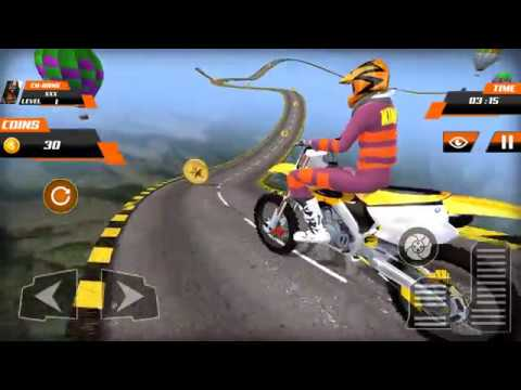 Real Stunt Bike Pro Tricks Master Racing Game 3D Android Gameplay