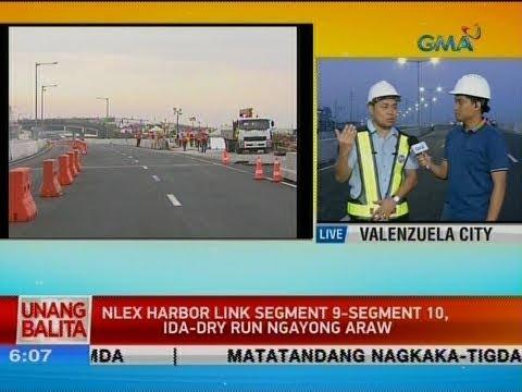 UB: NLEX Harbor Link Segment 9-segment 10, ida-dry run ngayong araw