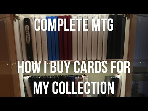 How I Purchase Cards For My Collection