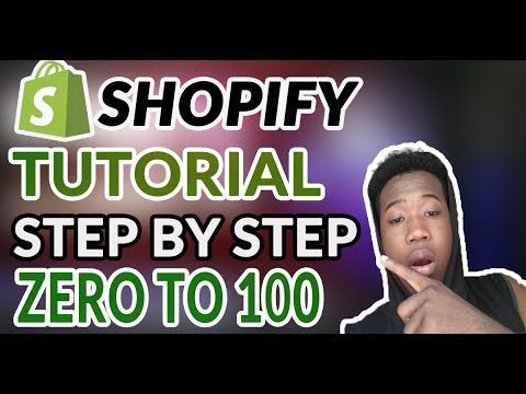 Shopify Tutorial For Beginners 2020 - How To Create A Profitable Shopify Store From Scratch thumbnail