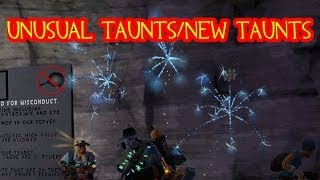 TF2 : Unusual Taunts/New Taunts Reel Crates