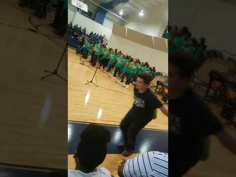 Yeager Middle School  chorus Performance
