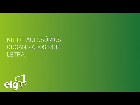 Kit de acessórios organizados - ELG