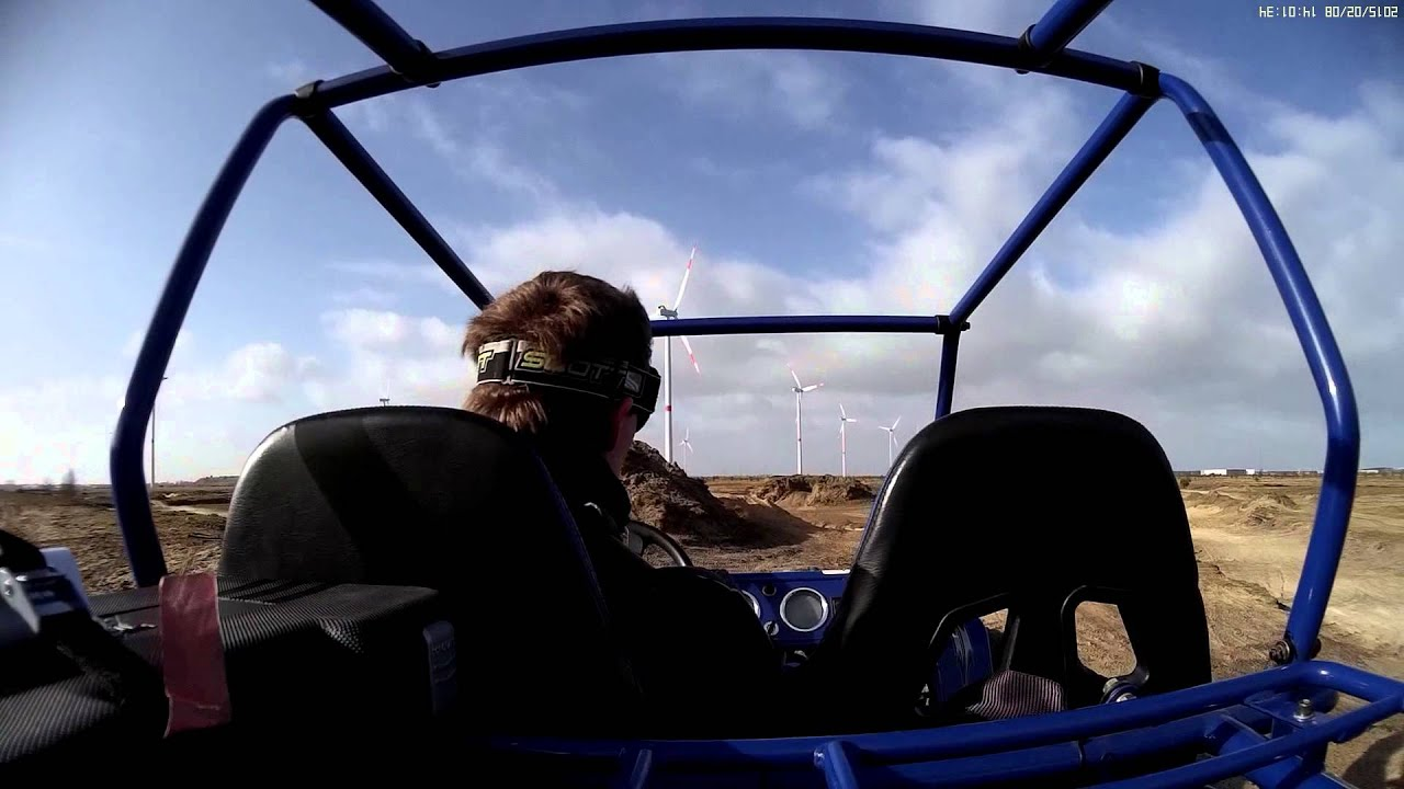 GS Moon 400cc buggy offroad - YouTube