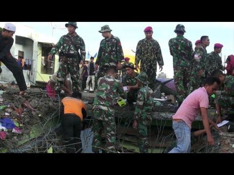 Indonésia pede ajuda após terremoto