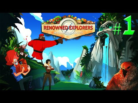 Let's Play Renowned Explorers - Part 1 - International Society [Gameplay]