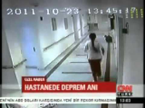 VAN 7.2 Deprem anı hastane kamerasında-VİDEO