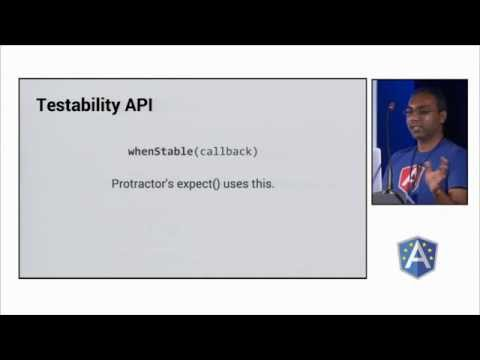 Protractor and the Testability API