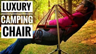 Best Camping Chair! Nemo Stargaze Recliner Luxury