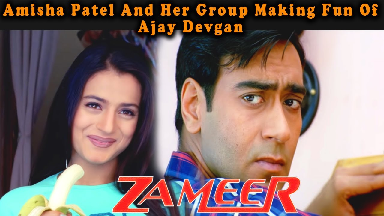 Download Amisha Patel And Her Group Making Fun Of Ajay Devgan | Zameer: The Fire Within