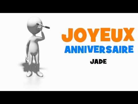 Joyeux Anniversaire Jade Youtube