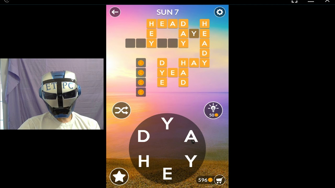 Wordscapes Sun 7 Answers Youtube