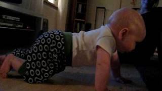 """Bruno  kryper, 5 månader! """" Workout"""""""