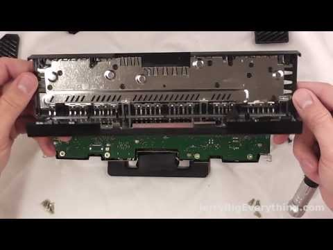 Xbox One Kinect 2.0 tear down and repair guide. Cleaning out dust.