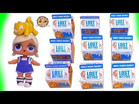 Lost Kitties ! Cats In Milk Dough Surprise Blind Bags