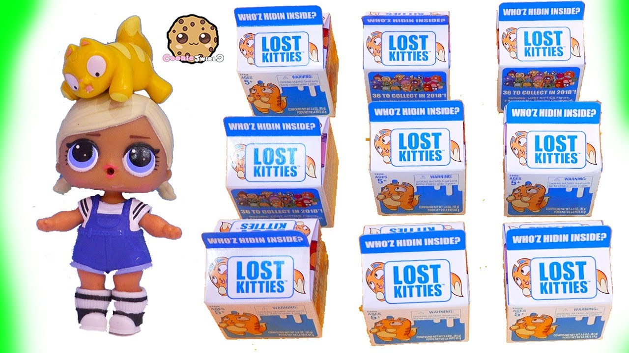 Lost Kitties Cats In Milk Dough Surprise Blind Bags