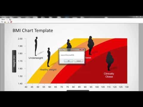 Body Mass Index – Bmi Index Chart Template