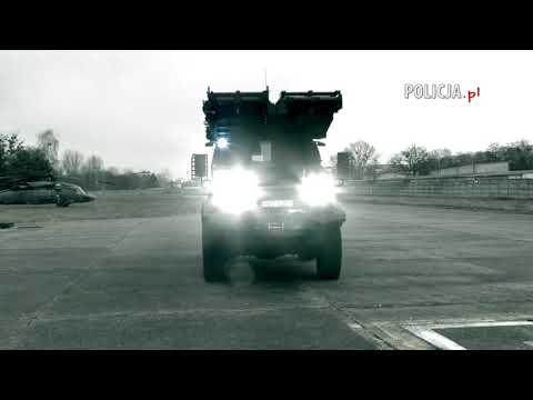 Policja: Pojazdy opancerzone AMZ-Kutno Tur VI