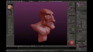 Blender скульптинг урок