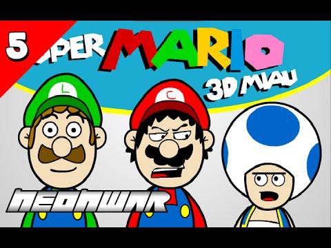 NEON WAR - SUPER MARIO 3D MIAU