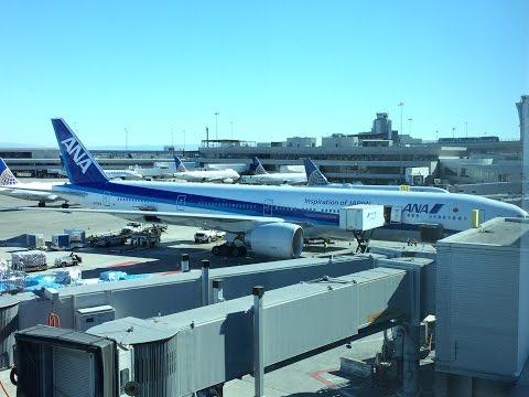 ANA | NH7 FLIGHT EXPERIENCE SAN FRANCISCO TO TOKYO