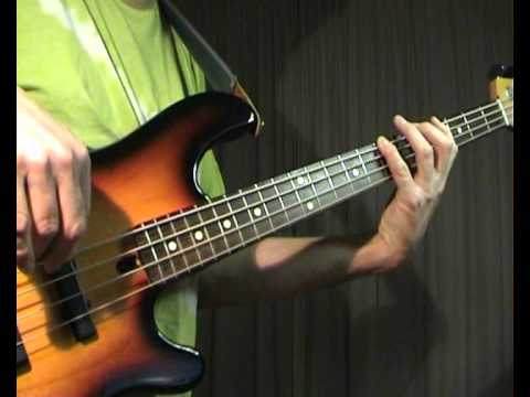 Squeeze - Tempted - Bass Cover
