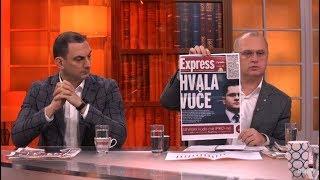 Albanci se zahvaljuju Vuku Jeremicu / Odgovor Sergeju Trifunovicu - DJS - (TV Happy 23.01.2019)