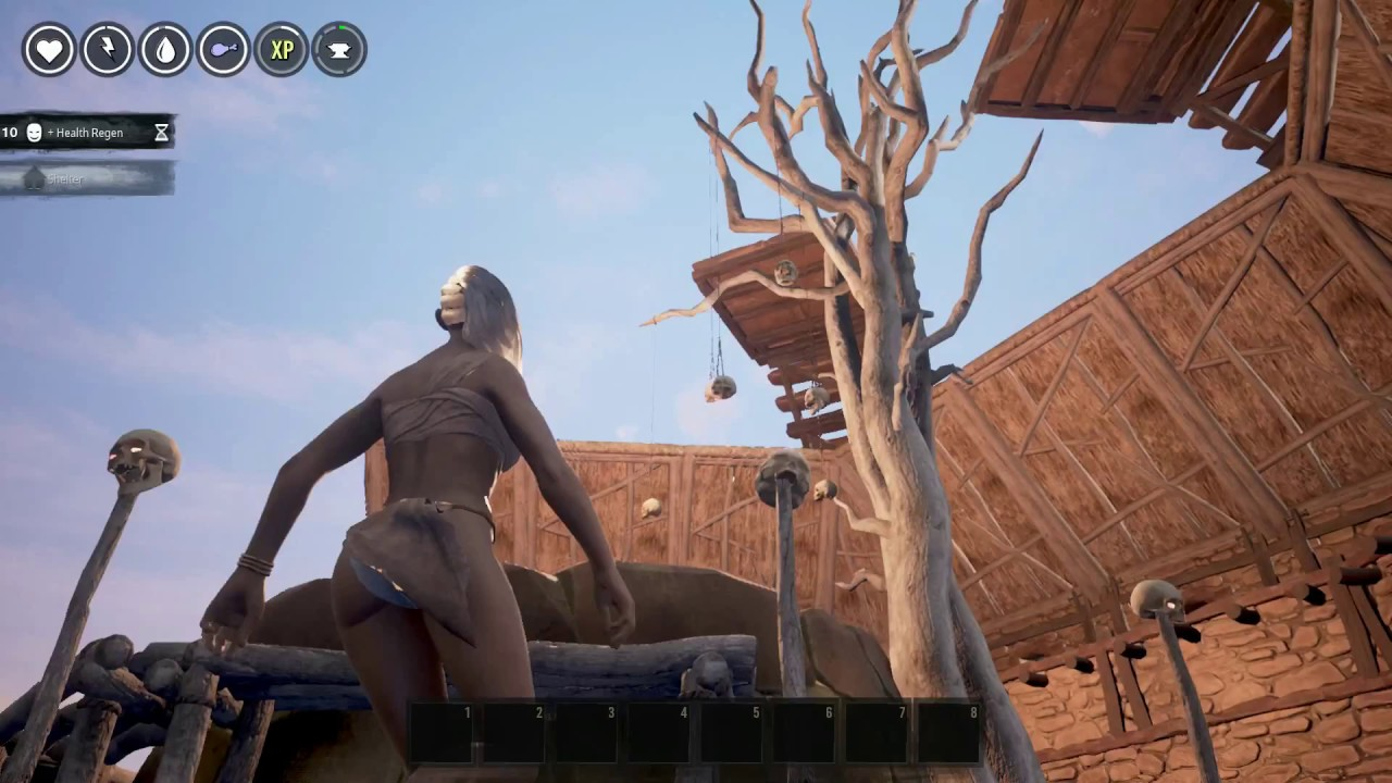 how to eat in conan exiles