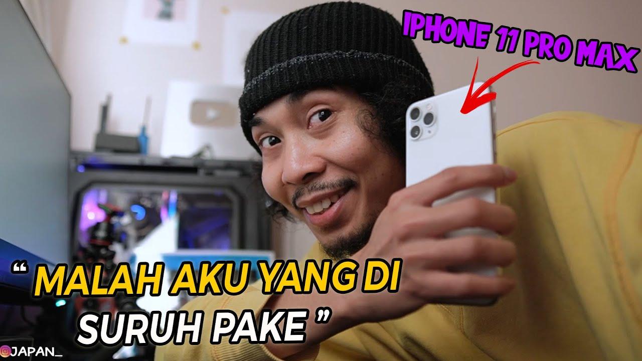 BELIIN ISTRI IPHONE 11 PRO MAX I ! MALAH BEGINI REAKSINYA !