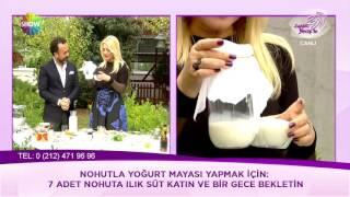 Nohutla yoğurt mayası nasıl yapılır?