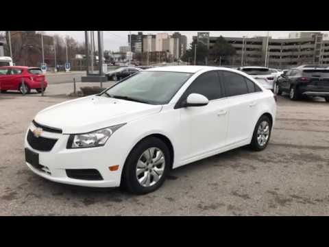 2014 Chevrolet Cruze 1LT Low KM's / Bluetooth For Phone / Remote Start / 4 Free Oil Changes