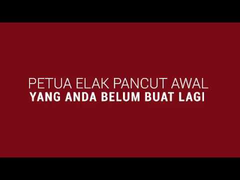 Petua Elak Pancut Awal