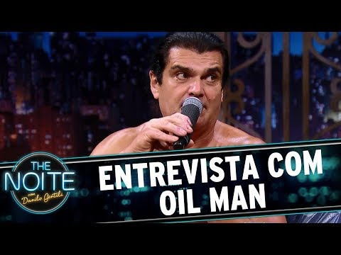 Entrevista com Oil Man | The Noite (18/07/17)