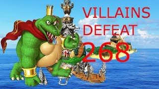 Villains Defeat 268