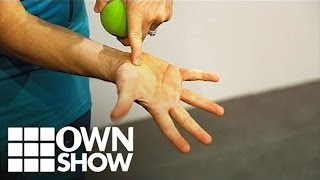 The Secret Pressure Point To Ease Neck Pain | #OWNSHOW | Oprah Winfrey Network