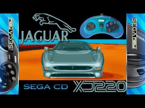 Jaguar XJ220 - SEGA CD (1993) 'Longplay & Review'