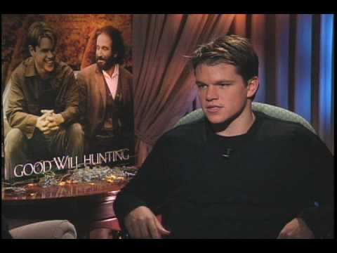 "Matt Damon talks to Joe Leydon about ""Good Will Hunting"""