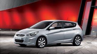 Наши тесты 2014 Hyundai Solaris 1.6 123 HP смотреть