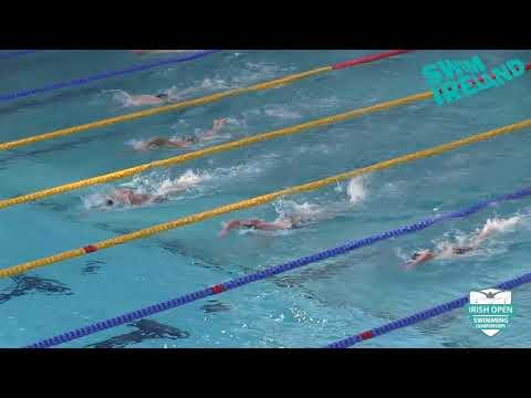 2018 Irish Open Championships - Male 800m IM (Final) Heat