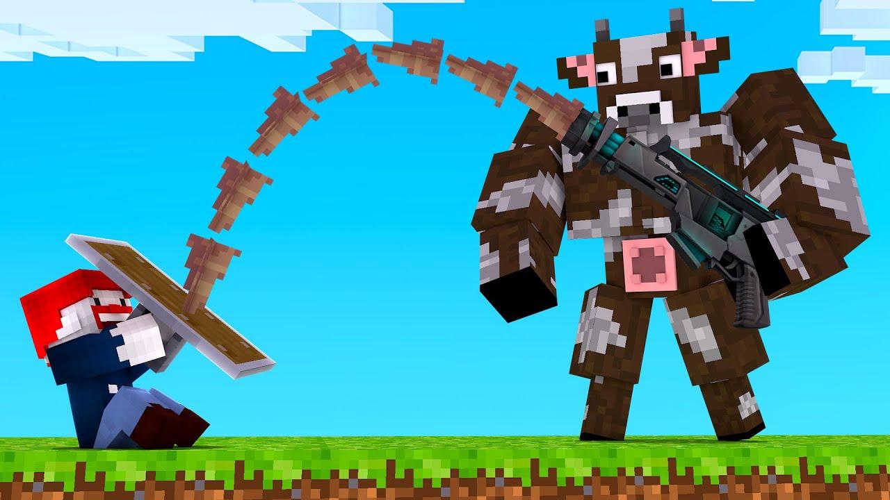 ICH TESTE 7 ABNORMALE WAFFEN! - Minecraft