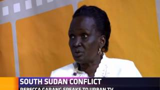 Rebecca Garang speaks out on South Sudan unrest