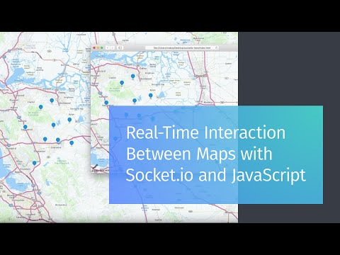 Real-Time Interaction Between Maps With Socket.io And JavaScript